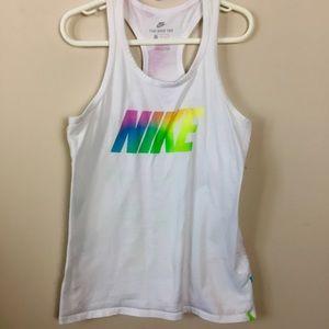 Girls Sz Medium Nike Tank Shirt Top